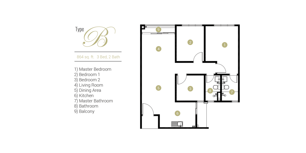 Residensi Far East Floor Plan 0175555422 Malaysia